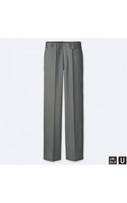 Серые брюки Uniqlo