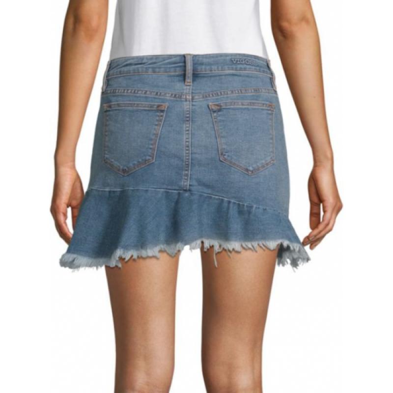 Джинсовая мини юбка Vigoss