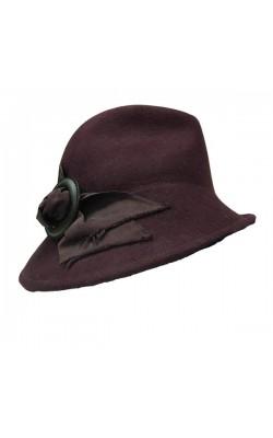 Бордовая шерстяная шляпа Florentino Hat Brand