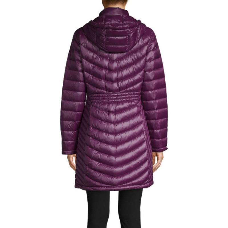 Фиолетовый легкий пуховик  Calvin Klein