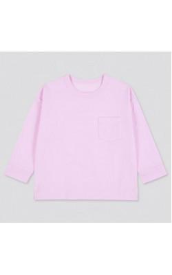 Лонгслив на девочку Uniqlo розовый AIRISM