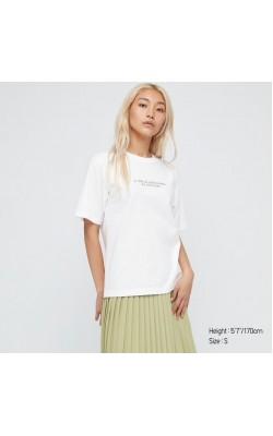 "Белая футболка из коллекции ""Louvre Museum"" Uniqlo"