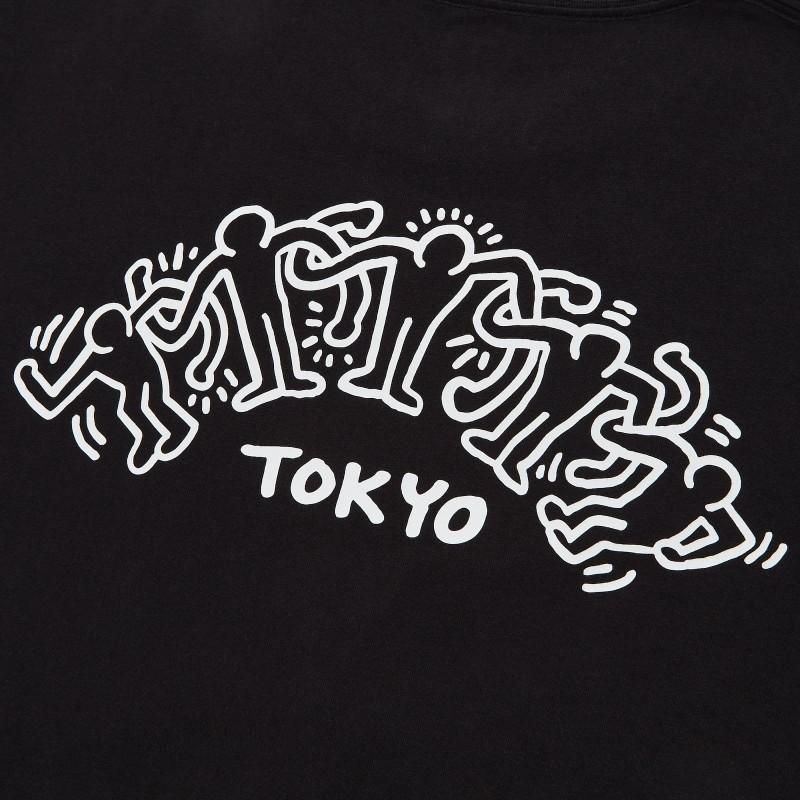 "Футболка ""Keith x Tokyo"" Uniqlo черная"