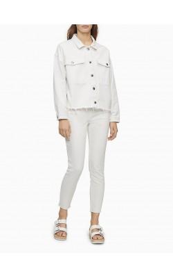 Белая джинсовая куртка Calvin Klein Jeans