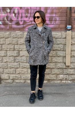 Байкерское пальто H&M
