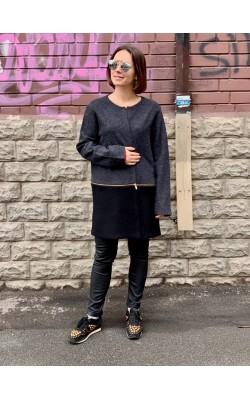 Легкое шерстяное пальто Karl Lagerfeld