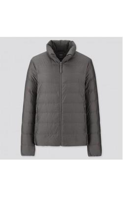 Куртка Uniqlo ультралегкая на пуху темно-серая