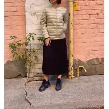 Бежевая ультратонкая куртка на пуху Uniqlo