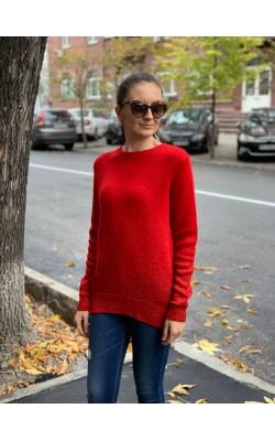 Красный свитшот H&M