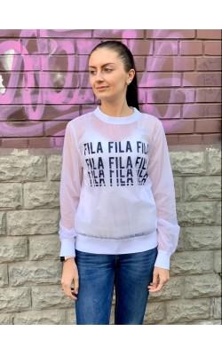 Полупрозрачная кофта FILA