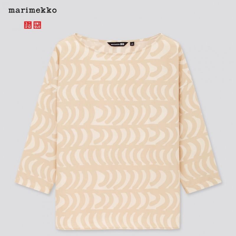Кофта Uniqlo+Marimekko светлая