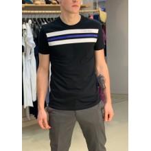 Черная футболка с принтом Calvin Klein