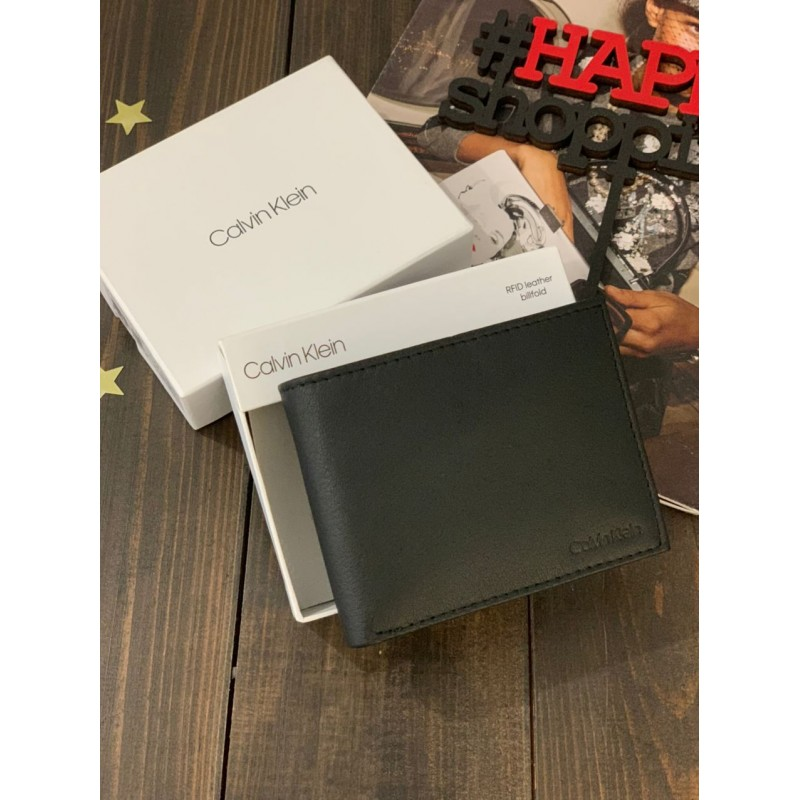 Мужской кошелек из натуральной кожи от Calvin Klein