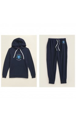 Мужской темно-синий легкий спортивный костюм от Tommy Hilfiger