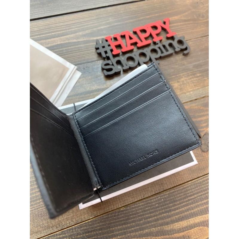 Мужской кошелек из натуральной кожи Michael Kors