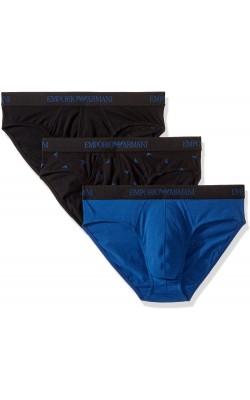 Набор черно-синих трусов Emporio Armani