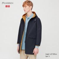 Двухстороннее водонепроницаемое пальто JW ANDERSON Uniqlo