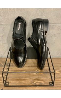Черные кожаные туфли Emerson