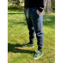 Темно-синие спортивные штаны Hollister