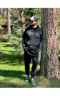 Черный  спортивный костюм Calvin Klein