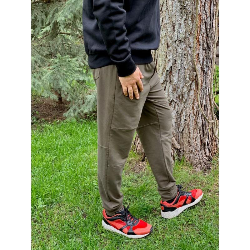 Спортивные оливковые штаны ''Jogger'' ASKYA