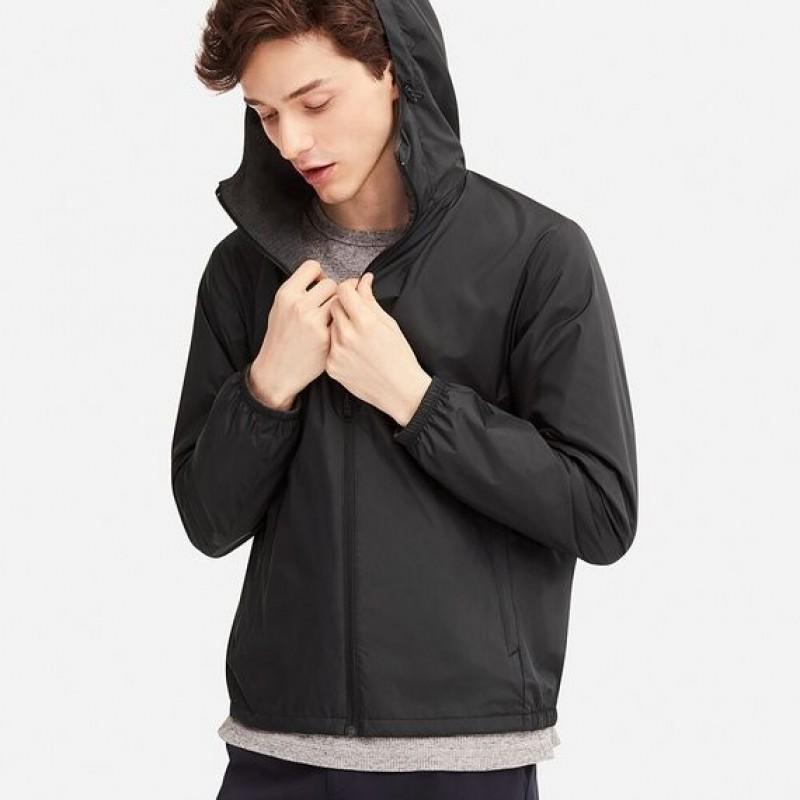 Куртка-ветровка Uniqlo двухстороння с капюшоном