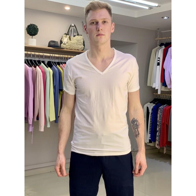 Белая базовая футболка Calvin Klein