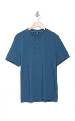 Синяя футболка DKNY