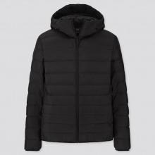 Куртка Uniqlo с капюшоном черная
