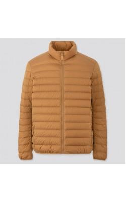 Куртка Uniqlo коричневая ультралегкая на пуху