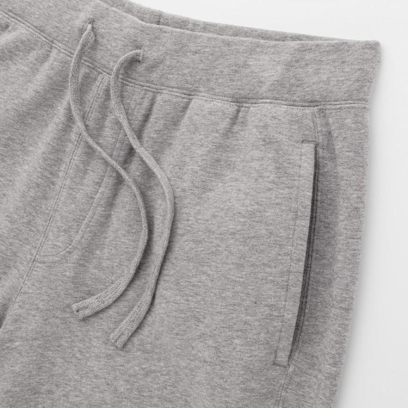 Спортивные штаны Uniqlo серые