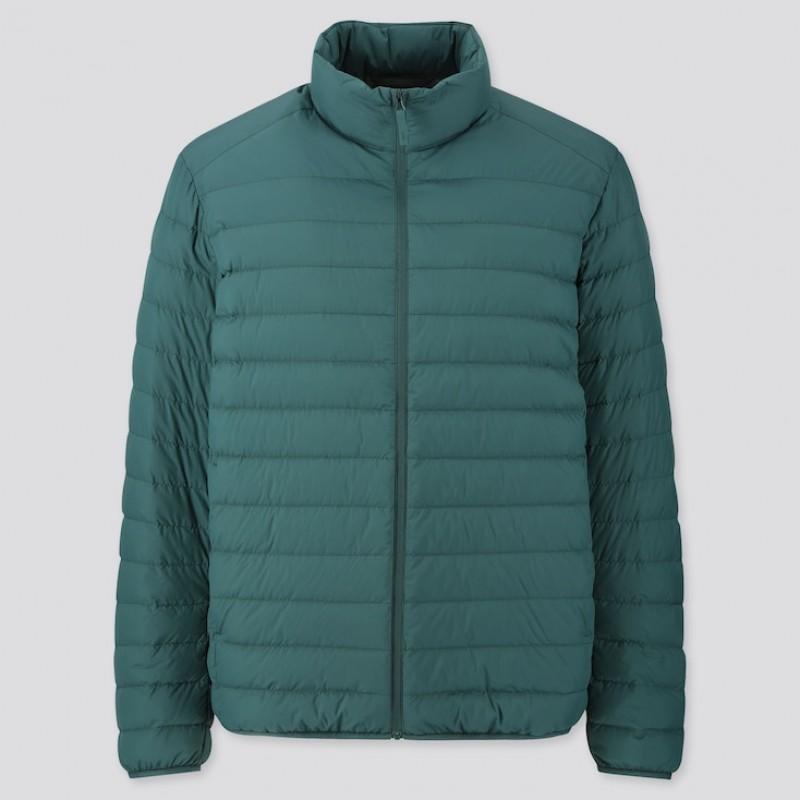 Куртка Uniqlo бирюзовая ультралегкая на пуху