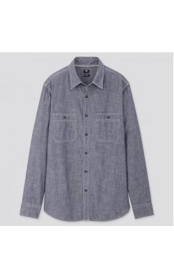 Рубашка Uniqlo джинсовая
