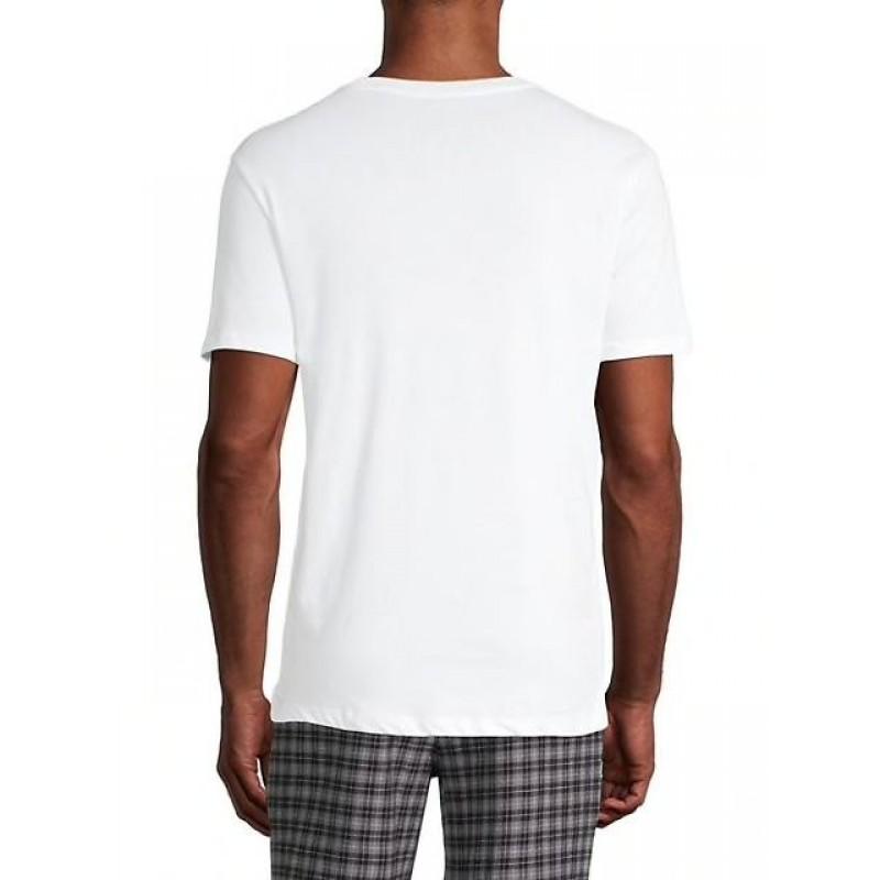Набор футболок Michael Kors белых с круглым вырезом