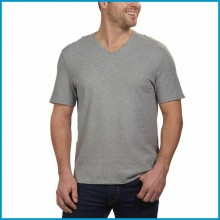 Серая базовая футболка Calvin Klein