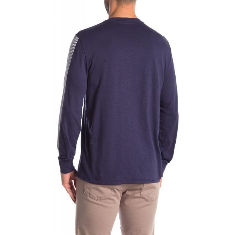 Темно-синий лонгслив Calvin Klein Jeans