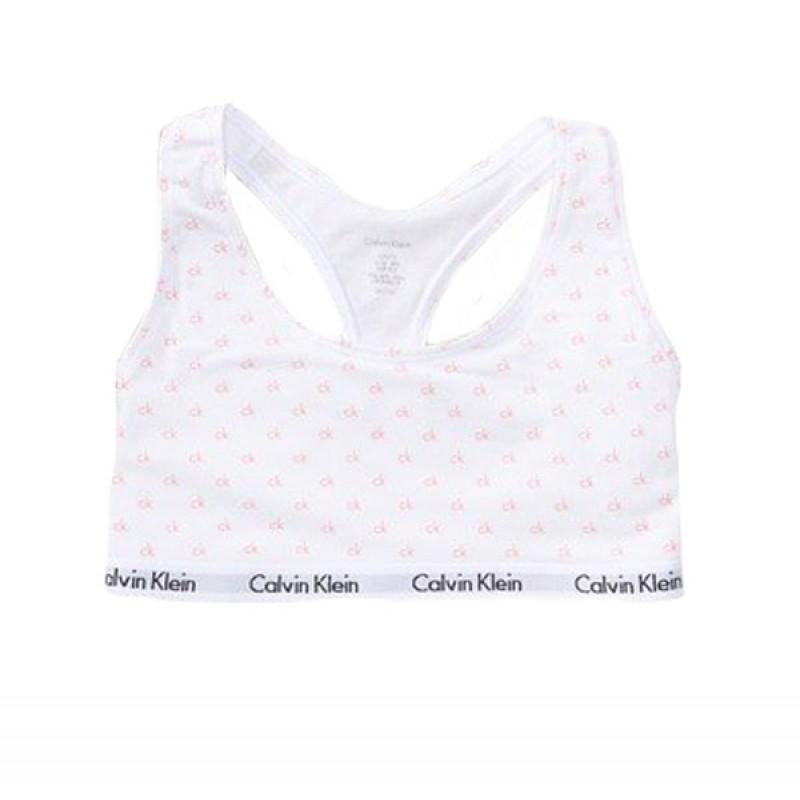 Белый комплект с принтом Calvin Klein