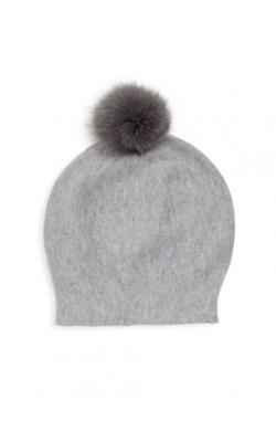 Светло-серая шерстяная шапка  La Florentina