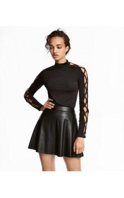 Черная облегающая кофта H&M