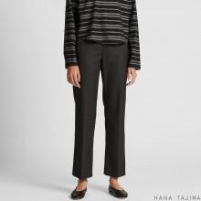 Черные брюки  Uniqlo + Hana Tajima