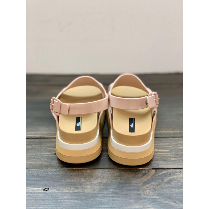 "Пудровые босоножки на платформе  ""Cosmic Sandal II"" Melissa"