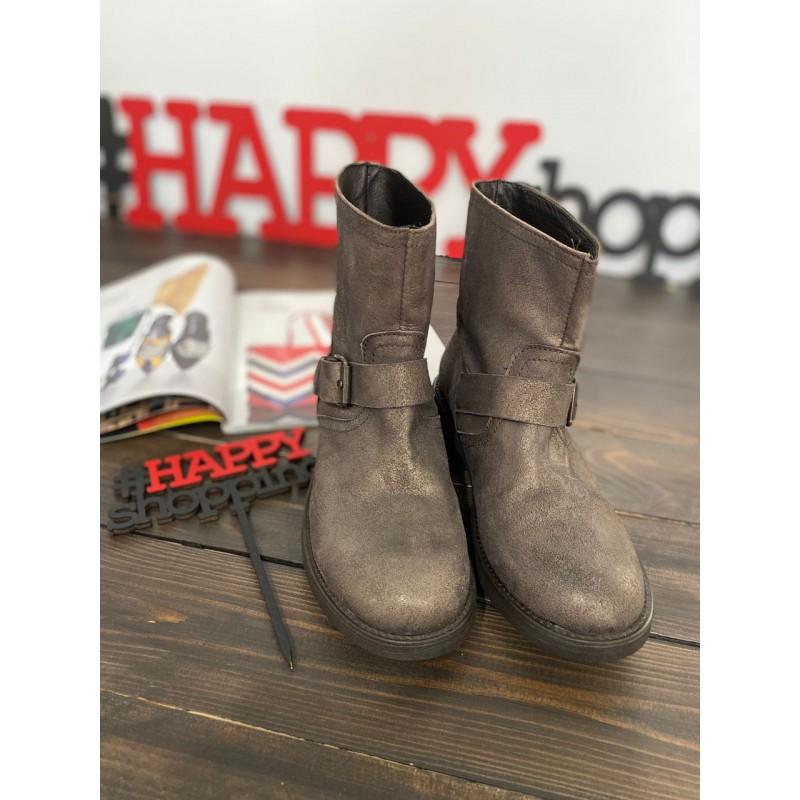 Бронзовые ботинки Mally
