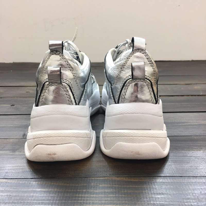 Cеребристые  кроссовки Jeffrey Campbell