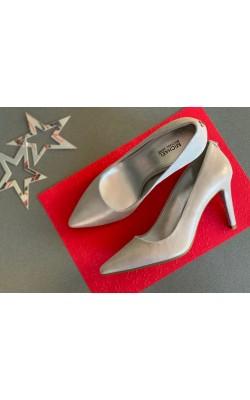 Серебристые туфли Michael Kors