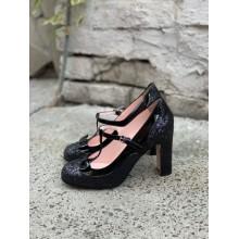 """Черные туфли """"Mary Jane"""" Red Valentino"""