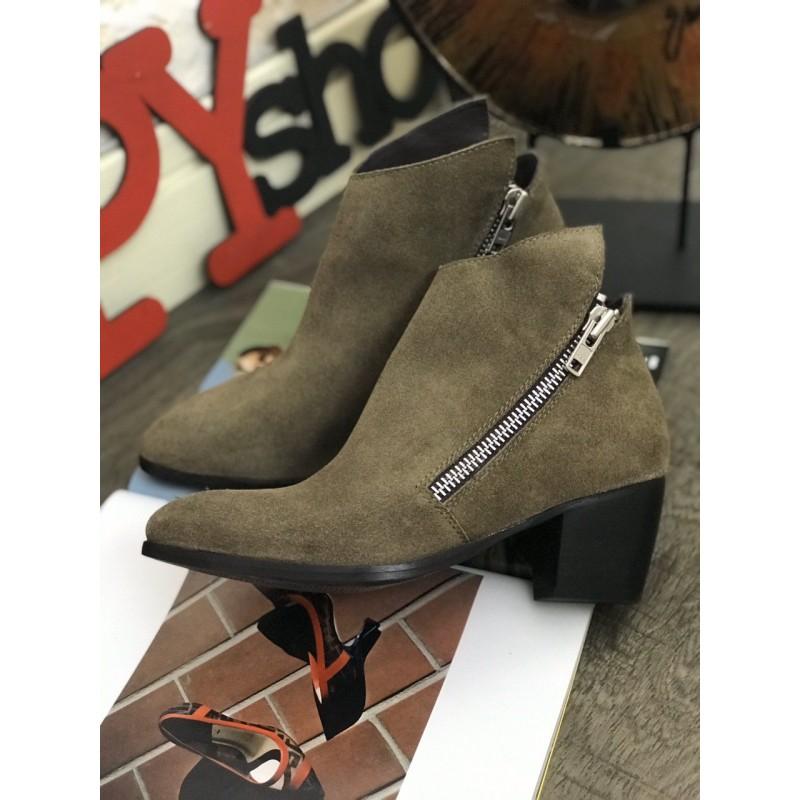 Замшевые ботинки Matisse