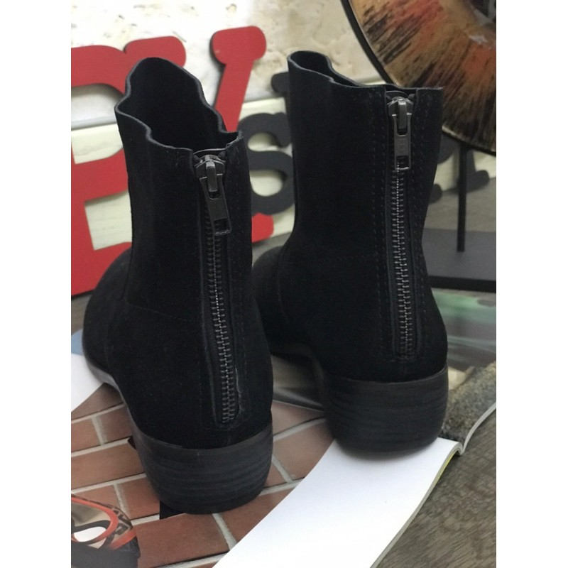 Замшевые ботинки Shellys London