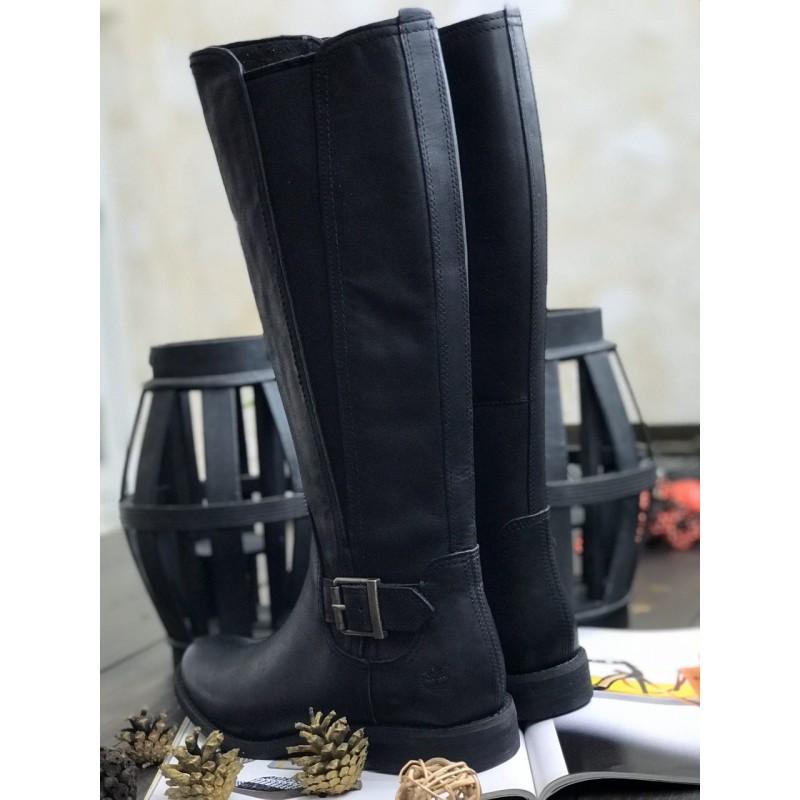 Черные сапоги Timberland