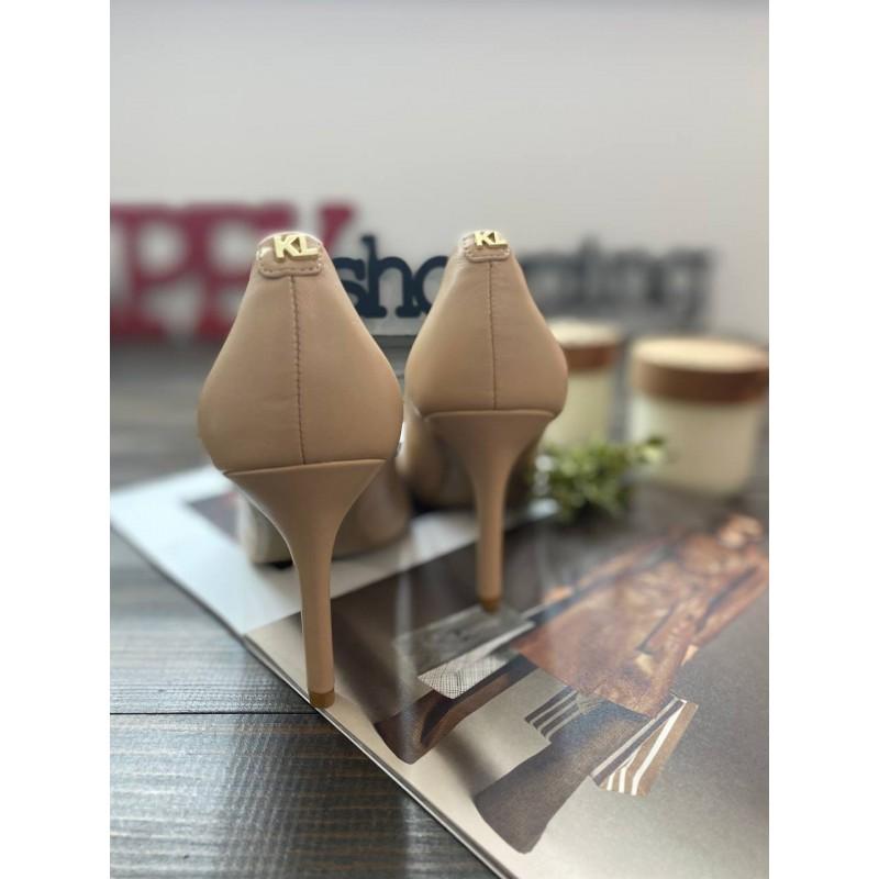Туфли Karl Lagerfeld Paris кожаные бежевые