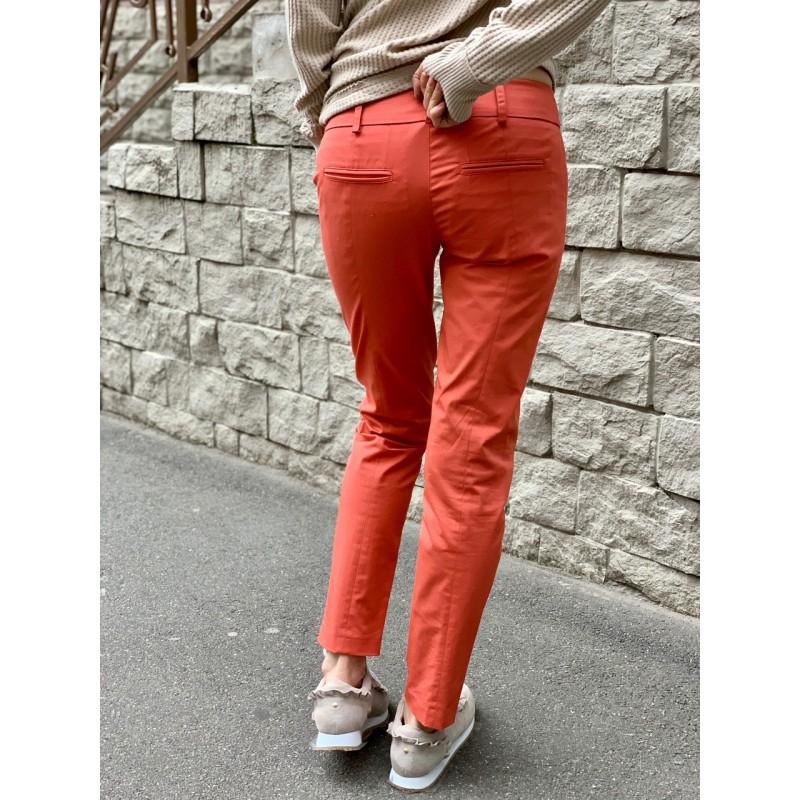 Коралловые брюки Patrizia Pepe